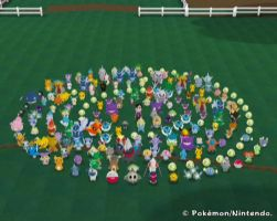 My Pokemon Ranch Currently by PrincessOfLior