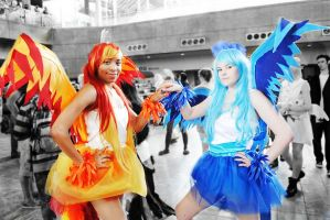 The Colors of Fire and Ice by Double-A-Cosplay
