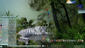 Tiger Desktop by Frankief