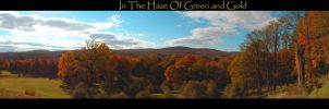 Haze Of Green and Gold by cycowolf