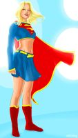 supergirl by strib