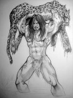 Tarzan By DW MIller by ConceptsByMiller