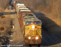 UP 6681 and UP 8141 leads UP MYCAS 27 by EternalFlame1891