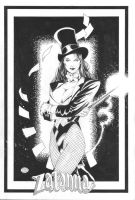 Zatanna, of the JLA by MichaelBair