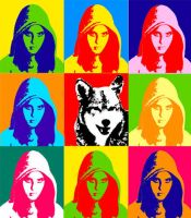 Red Riding Hood - Pop Art by RaphaelAleixo