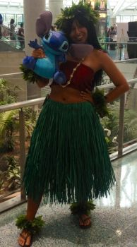 Lilo Cosplay AX 2013 by Padfootsgal215