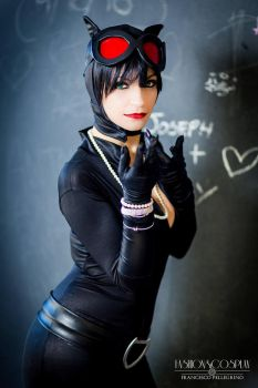 Catwoman - Dc Comics by CristalCosplay