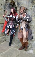 Captain Jack and Fem Assassin (6) by masimage