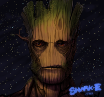 We are Groot! by SHARK-E