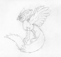 Fowl Griffin by Scribbabbles