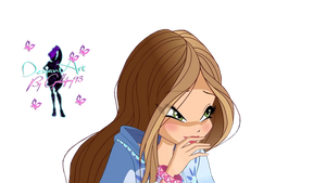 World of Winx (Wow) Flora Couture - PNG by Gallifrey93