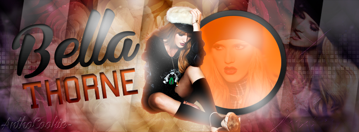 +Portada De Bella Thorne By AnthoCookie- by AnthoCookie