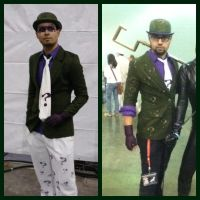 Then and Now, Riddler Evolution by Santy-Orm