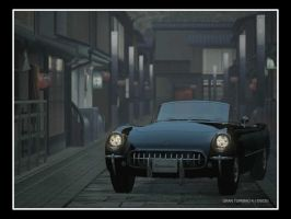 Classic Corvette from GT4 by D4v3yTh3D0rk