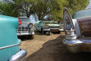Classic junk yard by finhead4ever