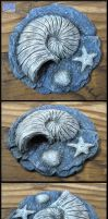 Realistic Animal Crossing Fossil by CopperCentipede