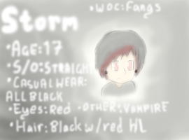 OC Bio: Storm Monstru by Ask-Insane-IanH