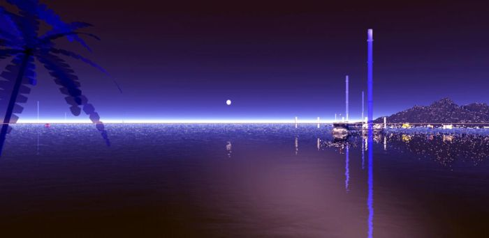 Harbour lights by JohnMo