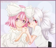 Tamao and Jeanne by Cobalt-Patch