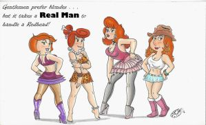 Redheads Rule! by kiff57krocker