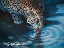African Leopard by LindsayRapp