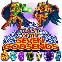 Cast Of The Seven Godsends v2 by POOTERMAN