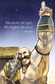 Braum's quote by foluthewizard