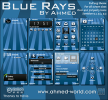 Blue-Rays By Ahmed by AhmedWorld