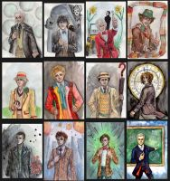 Draw ALL the Doctors! by Sildesalaten