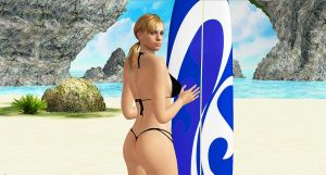 Jill Valentine   SURFIN GIRL by blw7920