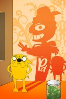 Jake-Bro and P-Dawg by nazo-gema