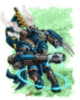 Predator Warjack color by DS by Turbulence1973