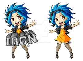 Chibi Levy by ZombieGirl01