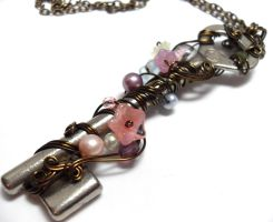 Passage Necklace no. 215 by sojourncuriosities