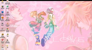 .:Dream Drop Distance Soriku Desktop:. by KnoxOneBack
