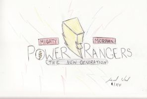 MMPR: The New Generation Logo by Jred20