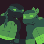 TMNT - Palette Meme Raph and Mikey by GwydionAE