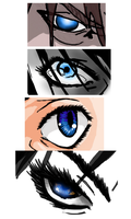 Eyes, then and now. by Pat22