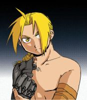 FMA - Edward Elric by Leon-Tasume