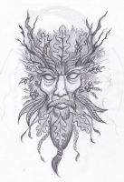 Green Man by Pugg