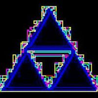 Electric Triforce by FluffehPickleLivi