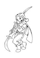 Halfling Fighter by The-Great-RKL