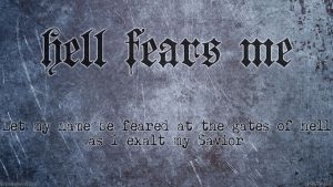 Hell Fears Me by Lhach
