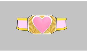 MMD Another Heart belt by amiamy111