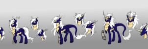 Commission - Aurora Kirin forms by Valkyrie-Girl