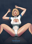 Power Girl by Monotoon