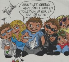Salut les geeks SLG comics by LievVictorovitch