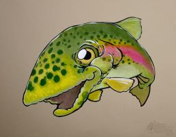 Trout by draweverywhere