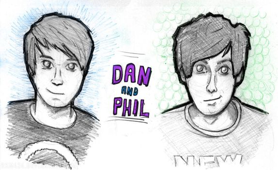 Dan and Phil by rkm424