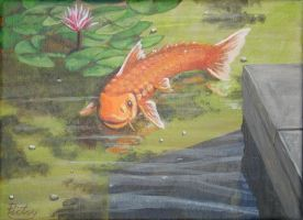 Fish Out Of Water -Carp- by pictsy